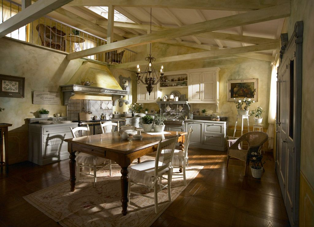 Country Chic Kitchen Dhialma -1 by Marchi Cucine | Kitchens ...