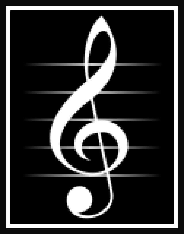 La Clave De Sol En El Pentagrama Doble Musica