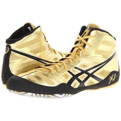 jb elite gold youth wrestling shoes