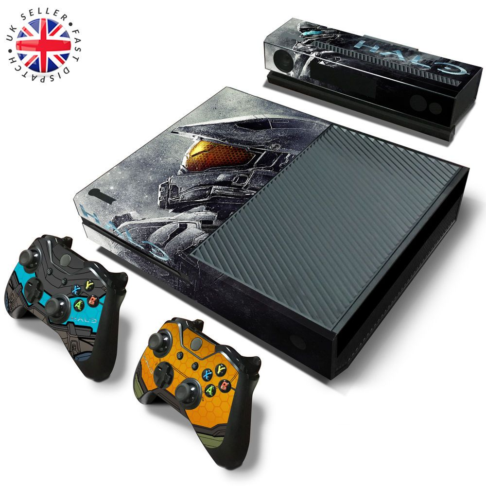 HALO 5 XBOX ONE Wrap Skin Sticker Dust Cover MASTER CHIEF