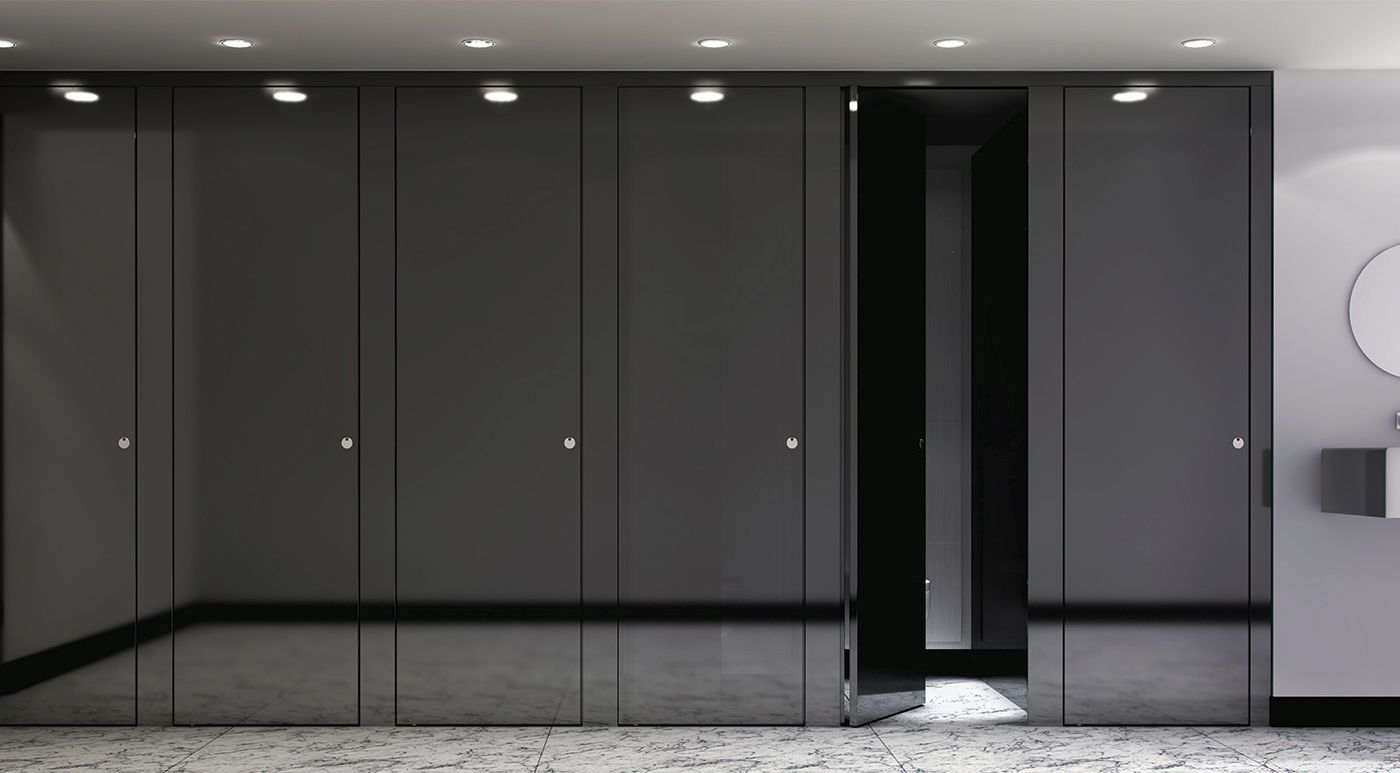 Bathroom Partitions Materials floor to ceiling designer bathroom partitions - google search
