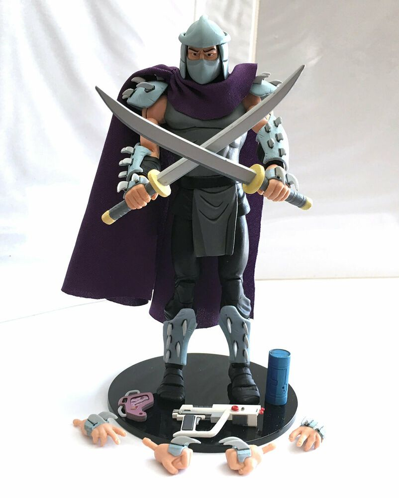 Shredder 2 110 Complete Neca Teenage Mutant Ninja Turtles