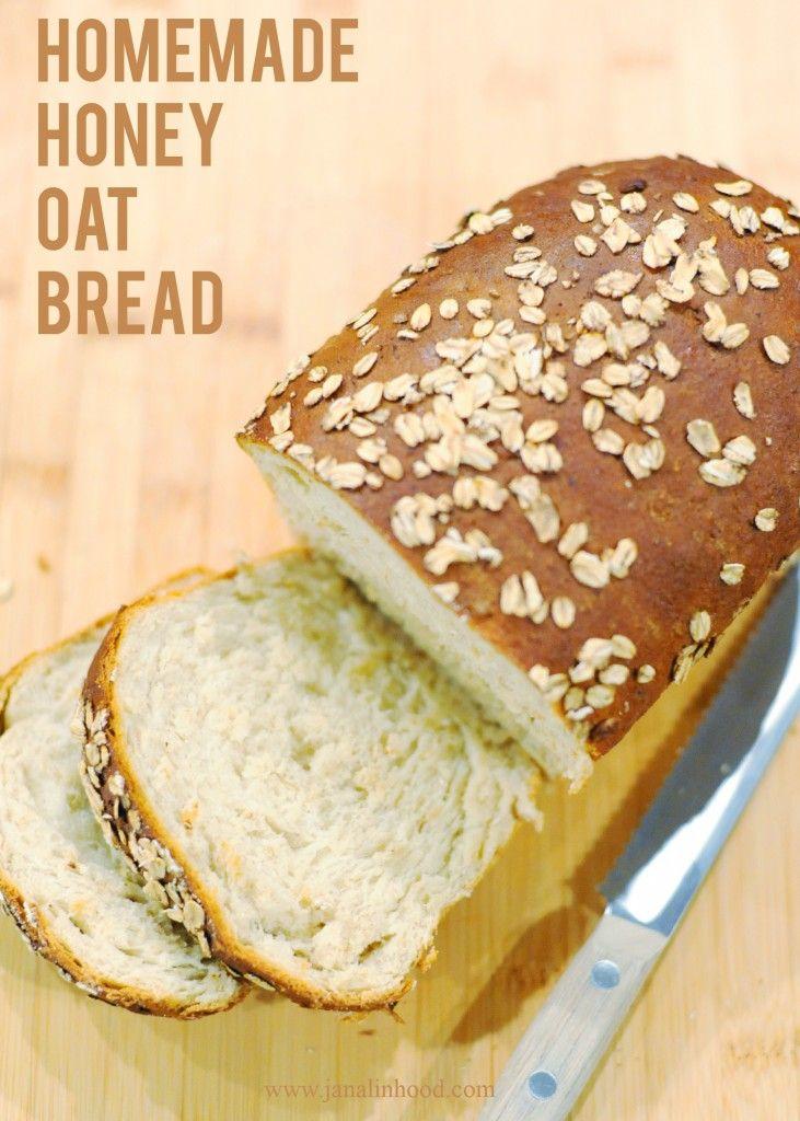 Honey Oat Bread Resep