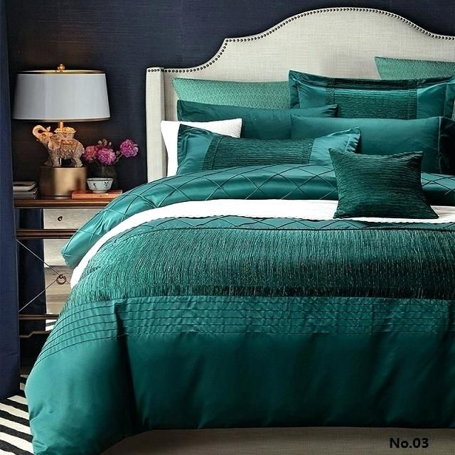 Teal Bedding Sets Amazon Teal Bedding Sets Super King Luxury Designer Bedding Set Quilt Duvet Cover Blue Green Beds Queen Bed Linen Luxury Bedding Teal Bedding