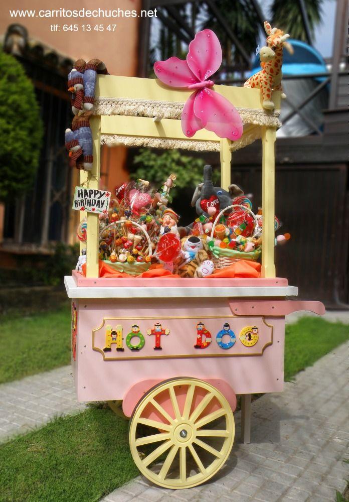 carrito infantil para fiestas infantiles y eventos