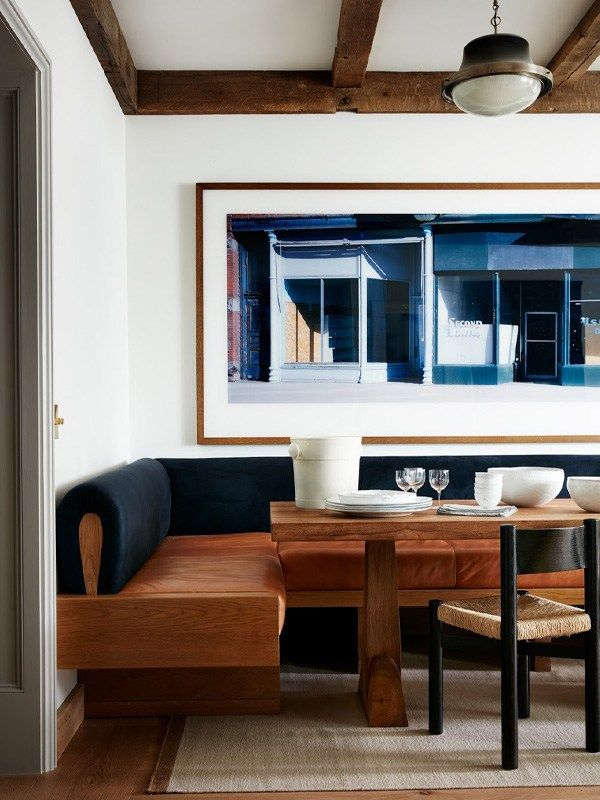 LOOKS WE LOVE // BANQUETTE DINING