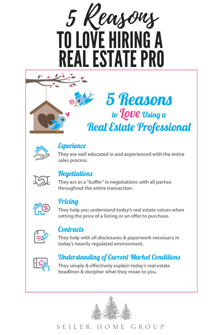 5 Reasons To Love Hiring A Real Estate Pro Selling Home By Owner