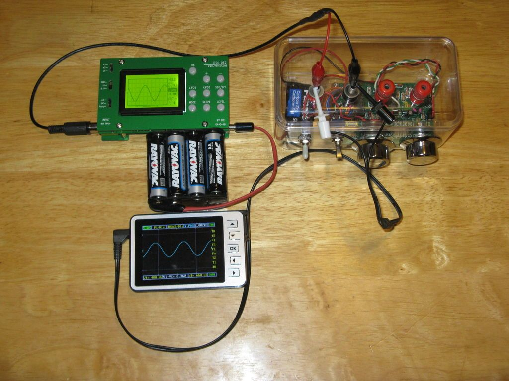 Use your laptop as oscilloscope electronics projects