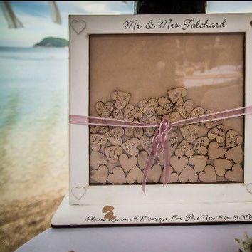 Drop Box Guestbook, Wedding Guestbook, Dropbox, Guest sign ...