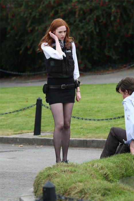 Amy Pond - maybe I'll do this one for halloween this year ...