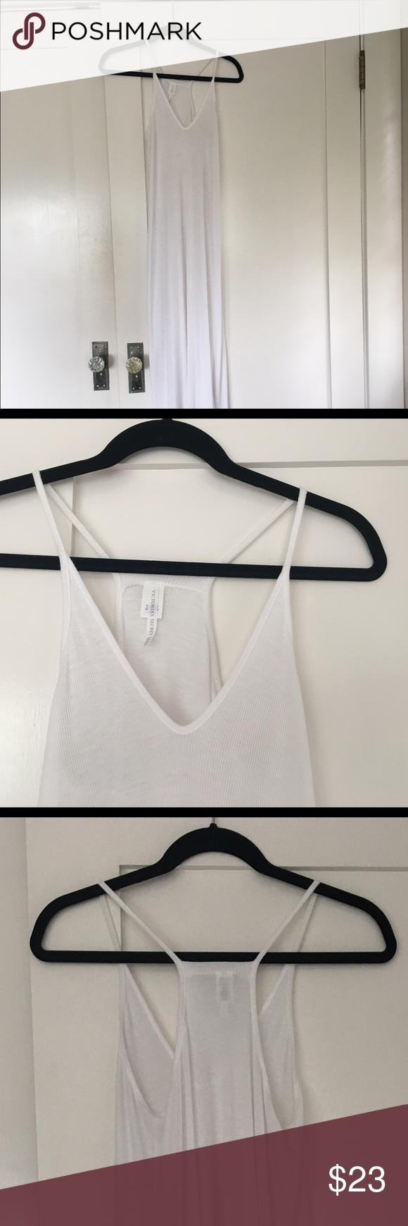 Victoria's Secret maxi dress size s-m Jersey material. Fits s-m PINK Victoria's Secret Dresses Maxi