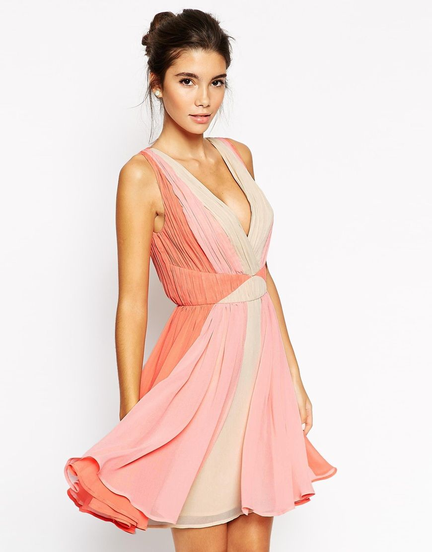 Asos Ombre Skater Dress The Perfect Dress For That Perfect Summer Party Http Asos Stunning Wedding Guest Dresses Bachelorette Party Dress Guest Dresses [ 1110 x 870 Pixel ]