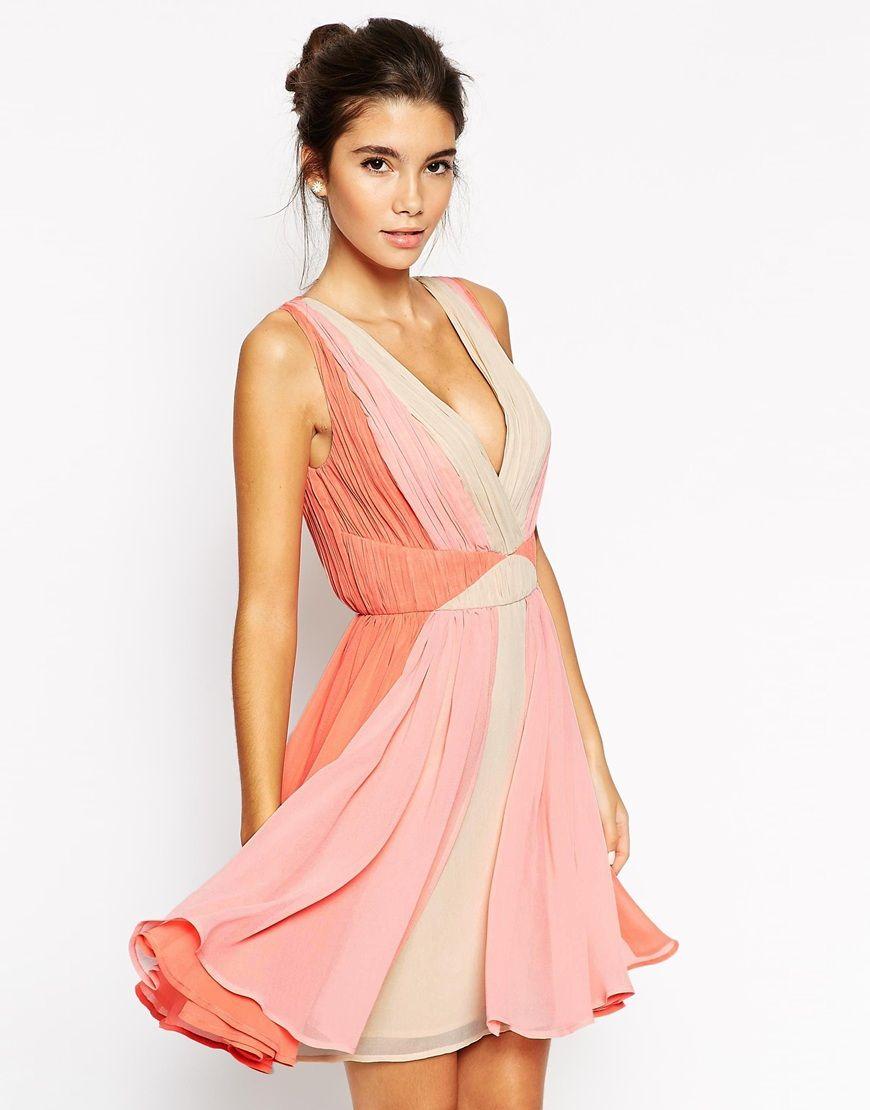 ASOS Ombre Skater Dress | Wedding Ideas | Pinterest | Summer parties ...