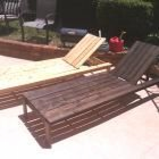 Ana White Build A Single Lounger For The Simple Modern Outdoor Collection Free And E In 2020 Homemade Outdoor Furniture Wood Patio Furniture Outdoor Wood Furniture