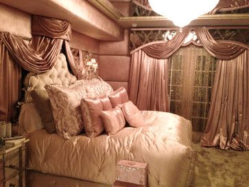 Beverly Hills Condo Old Hollywood Glamour Bedroom By Charles Neal