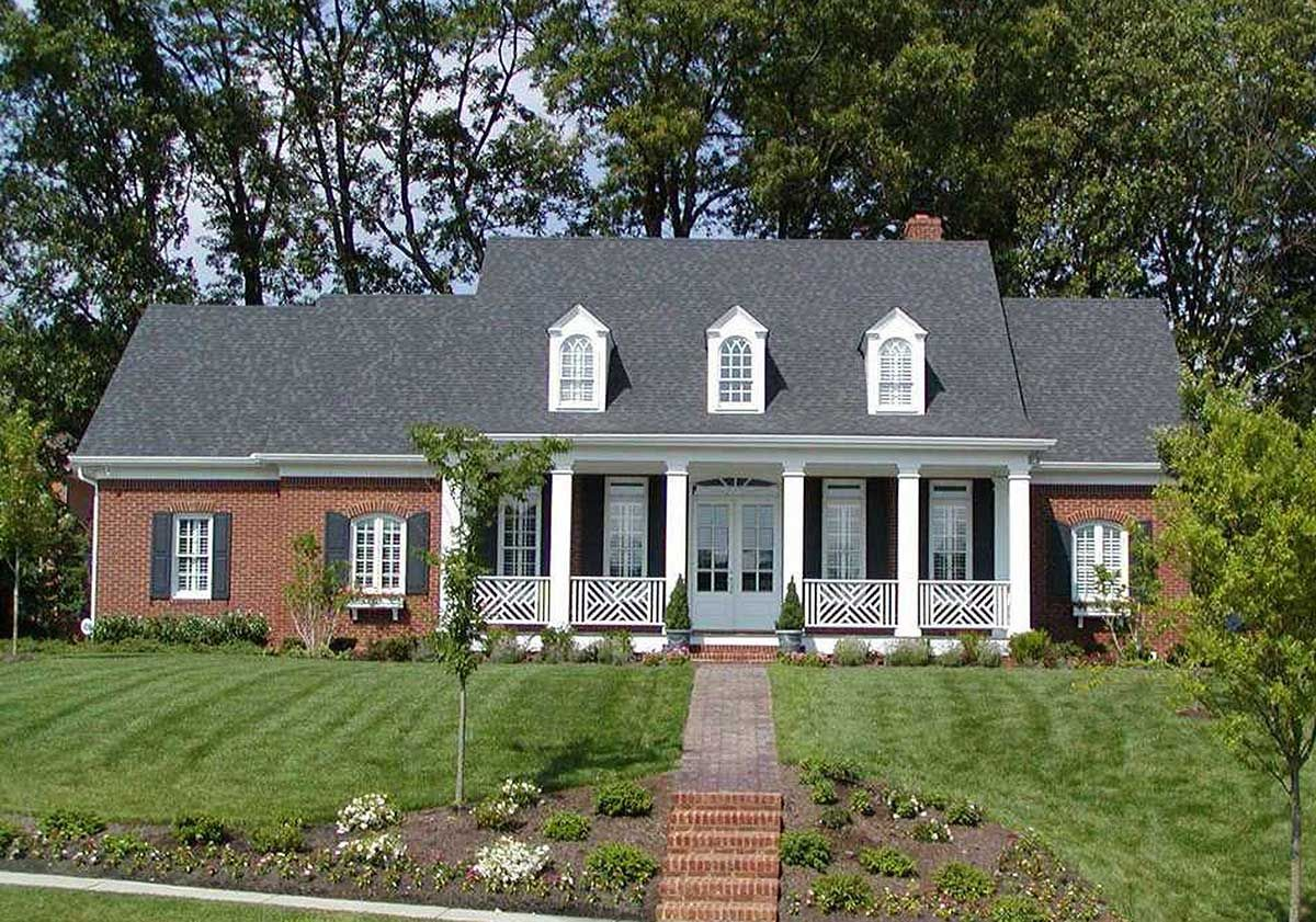 Plan 32433WP: Southern Charm | Homes | Pinterest | Southern, Foyers ...