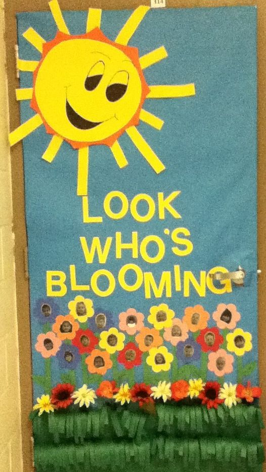 Pre K Door Decorations In The Classroom Pinterest