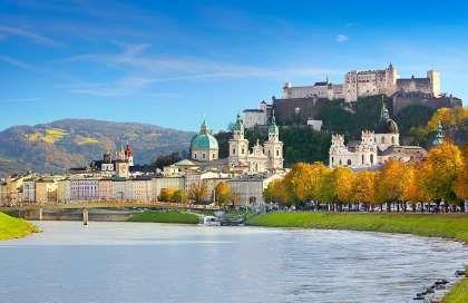 La historia ha esculpido la imagen de Salzburgo con palacios, jardines, puentes,... - Alamy. Texto: Meritxell-Anfitrite Álvarez Mongay @MeritxellAnfi