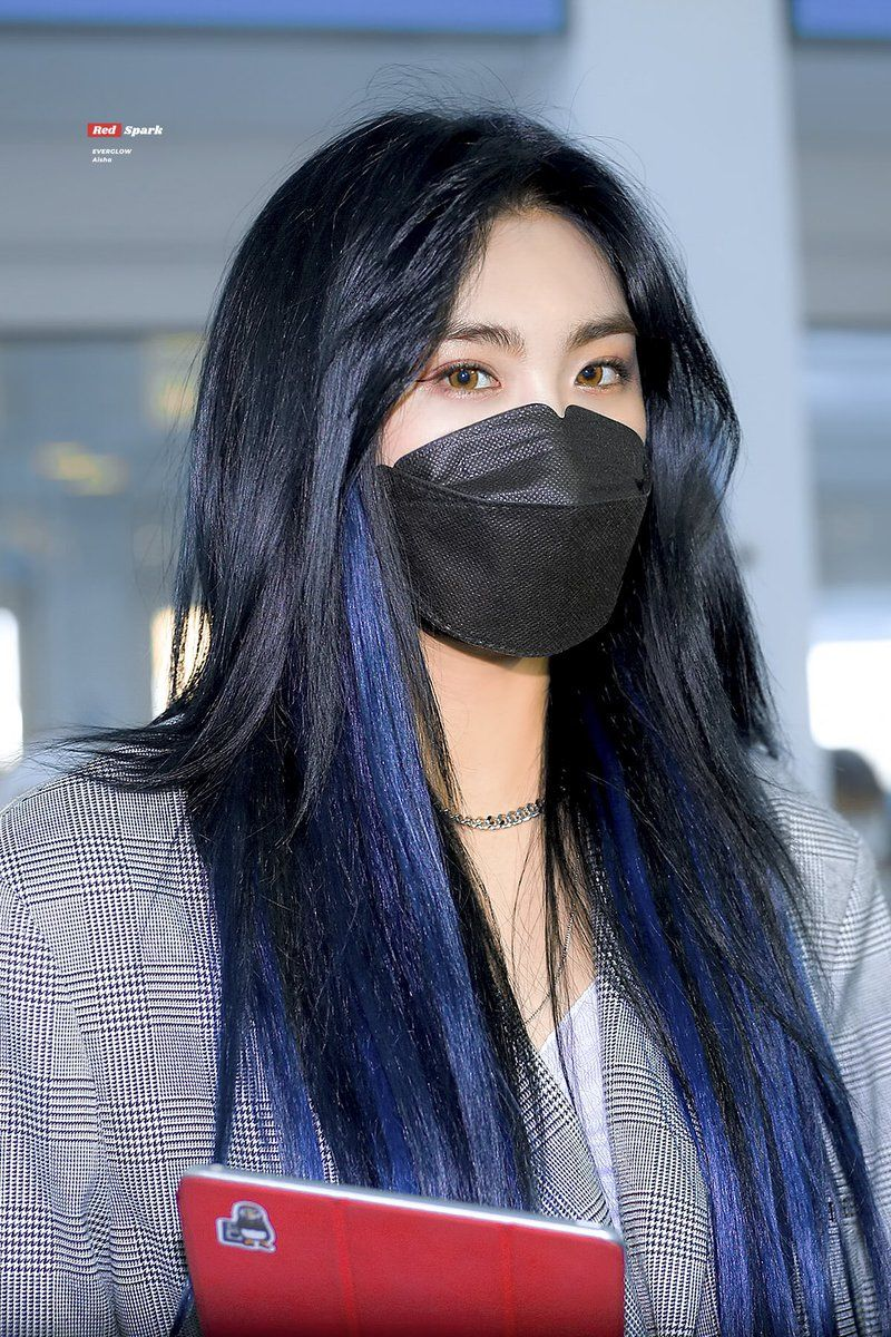 Pin By Jennifer Kim On Everglow In 2020 Aisha Kpop Girls Asian Beauty