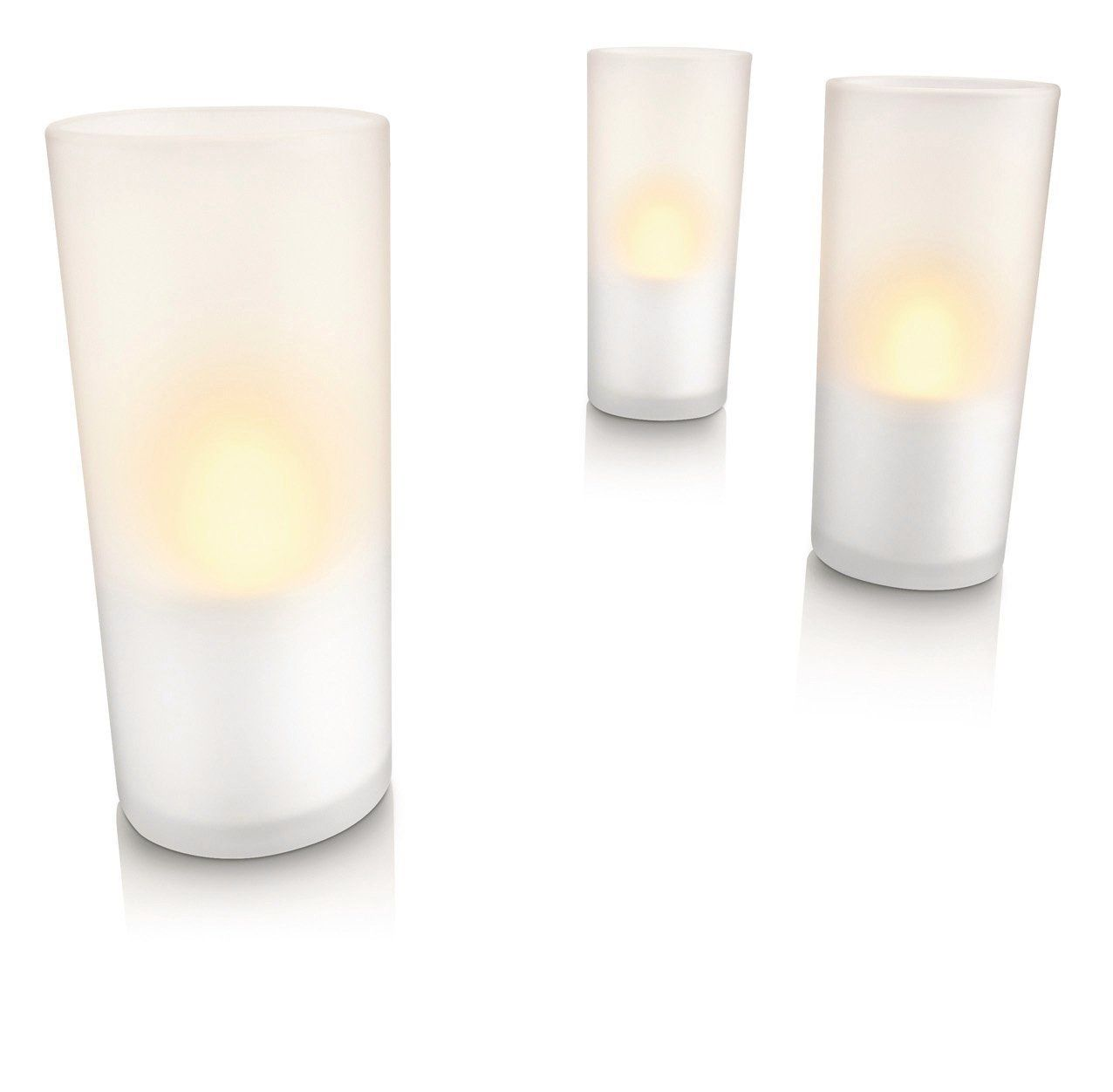 BARGAIN Philips Imageo LED Rechargeable Candle Lights, White NOW £14.99 At Amazon - Gratisfaction UK Bargains #bargains