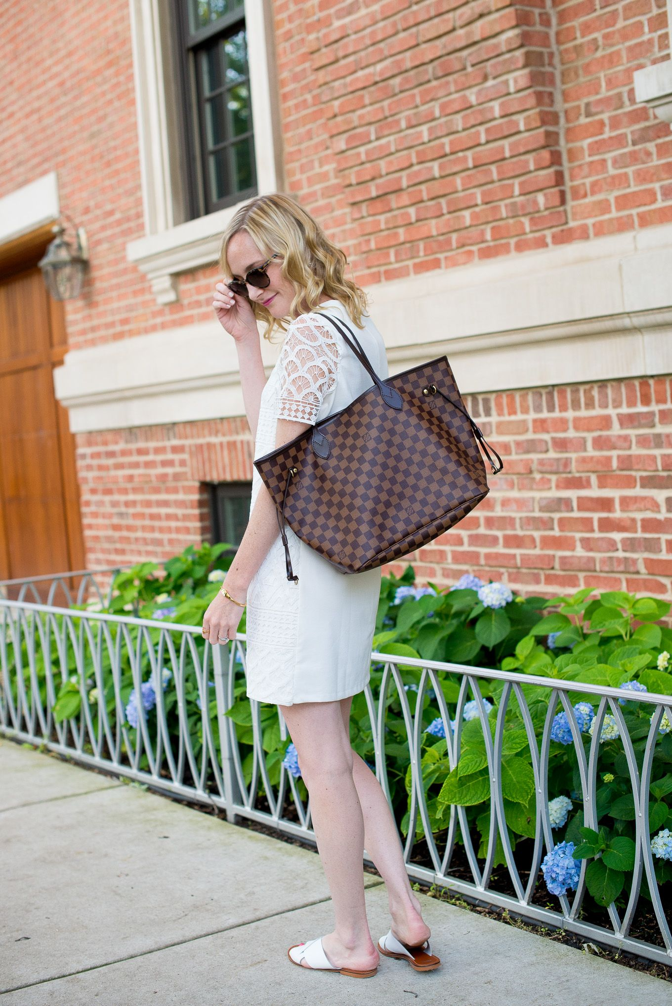 bbaf85826e Backyard Bbq Wear With Asos By Kelly In The City Louis Vuitton Neverfull  Tote