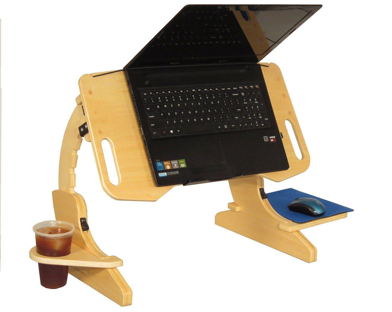 Amazon Com Adapdesk Portabe Foldable Adjustable Desk Laptop Bed