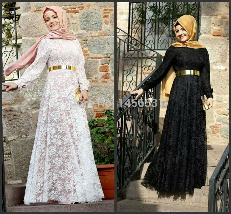 caftan et djellaba de maroc robe dentelle noir manche longue hijab 2015 robe dentelle robe