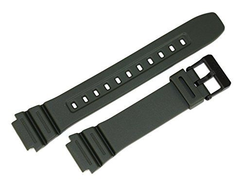 b6cb59b12308 BINLUN 10365962 Genuine Factory Replacement Resin Watch Band fits F-108WH-3A