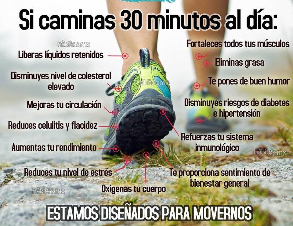 beneficios de caminar perdida de peso