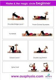 Pilates Magic Circle Exercises Google Search Pilates