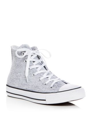 Baskets Converse Chuck Taylor All Star Sparkle Knit grey