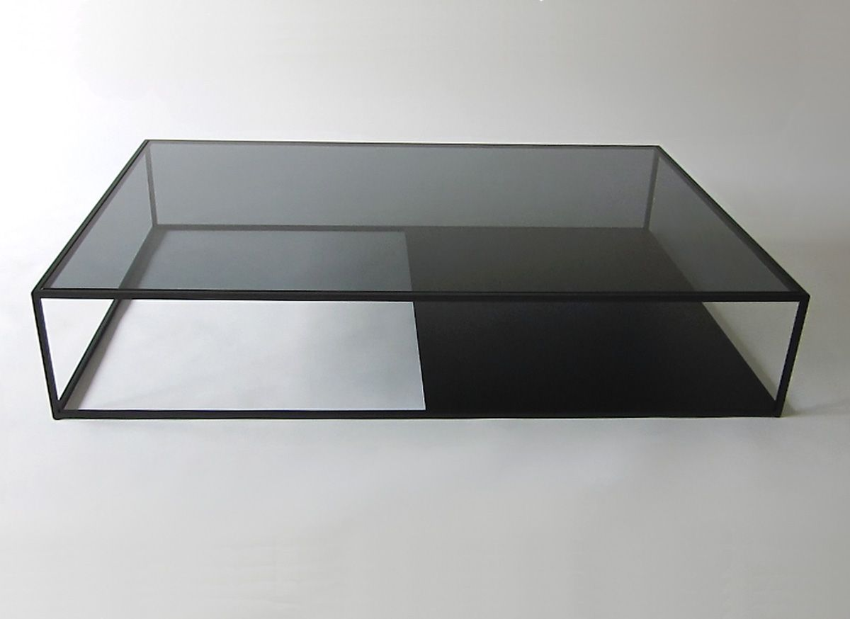 Modern Coffee Table Design DIY with Open Top Glass Table by Reza ...