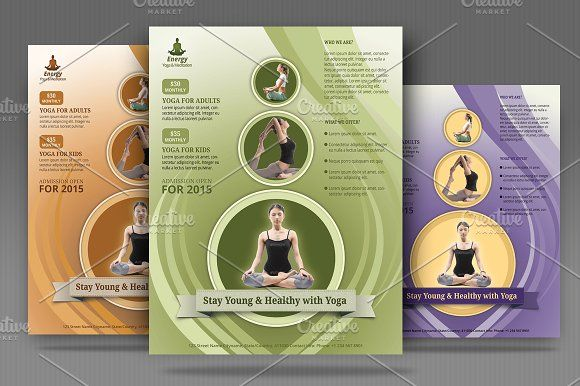 Yoga Meditation Simple Flyer Flyer Template And Template