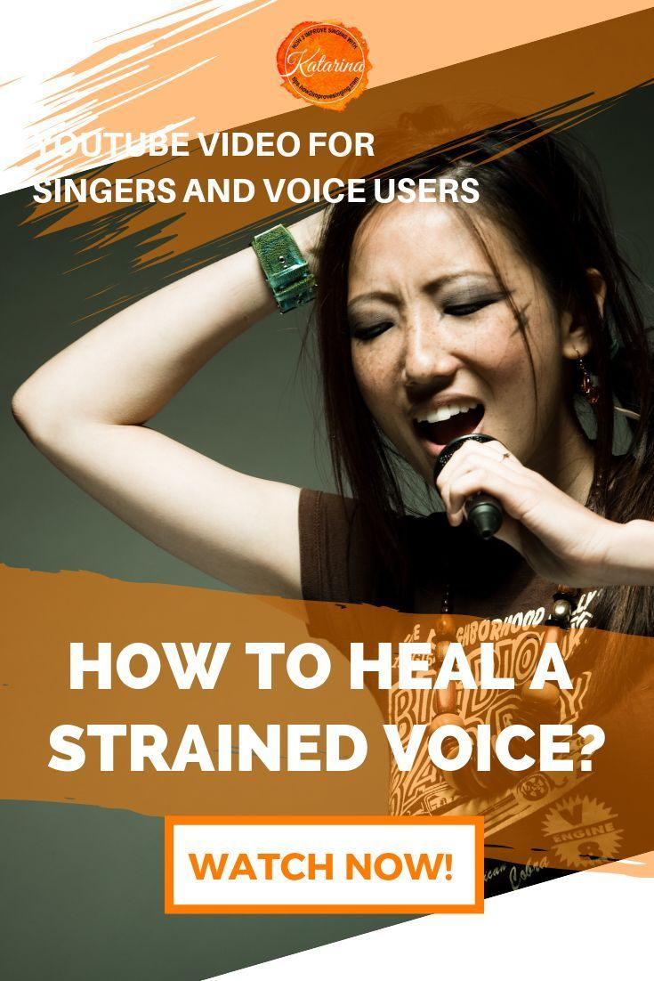 Do you know what to do when your voice feels tired or