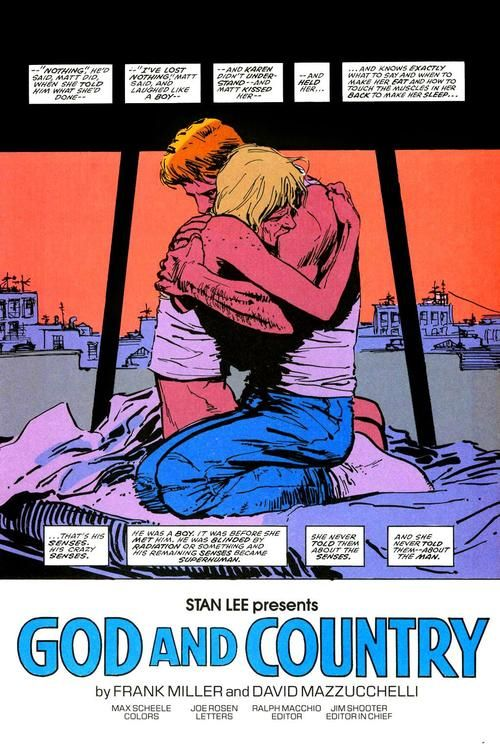 Daredevil: Born Again framing device in the opening splash ...