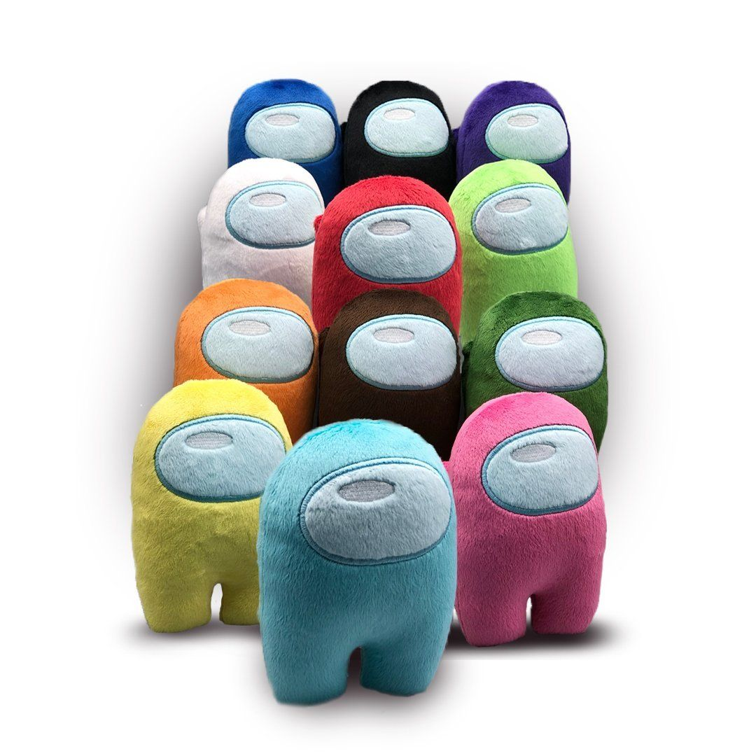 Among Us Plushie Set of 4 Soft Among Us Toy Plushie Red, Pink, Blue, Green