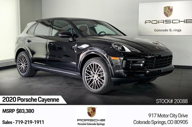 2020 Porsche Cayenne Colorado Springs Co Colorado Springs Porsche Porsche Cayenne