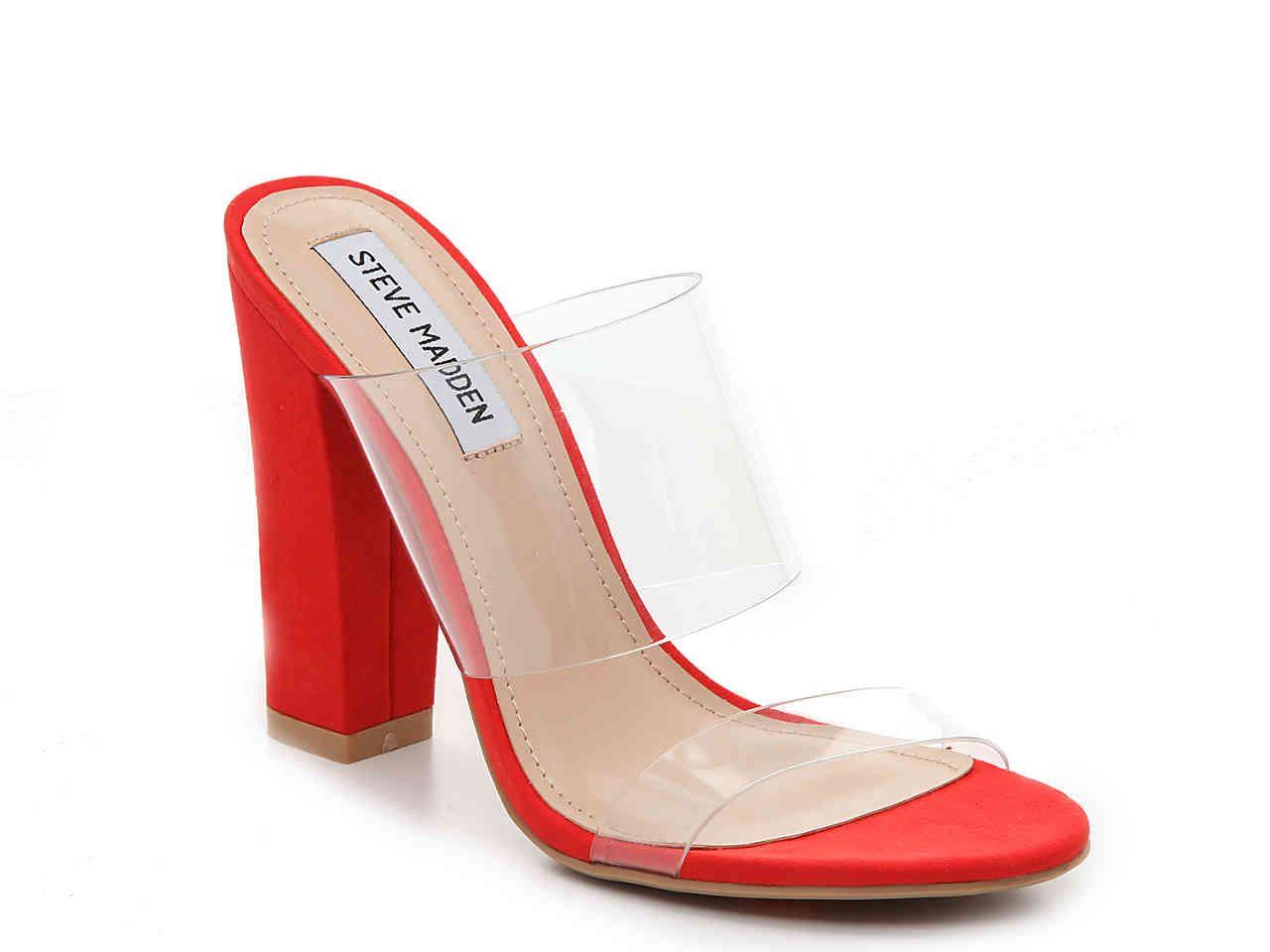 Steve Madden Jubilee Sandal   Womens red shoes, Work shoes women ...