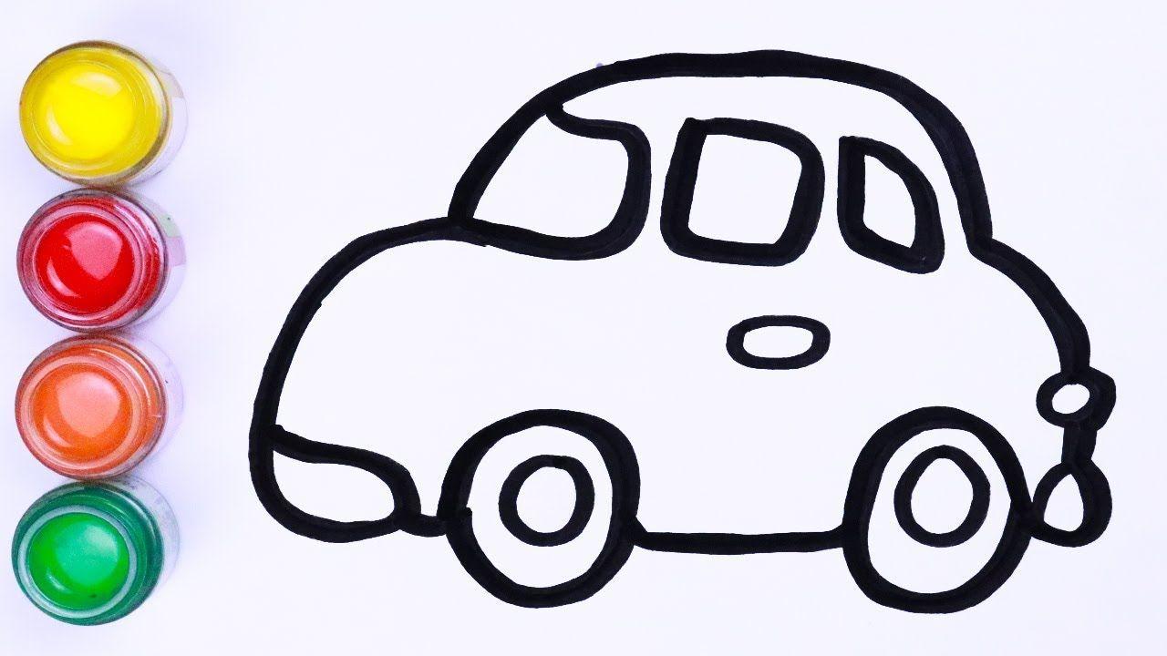 Menggambar Dan Mewarnai Mobil