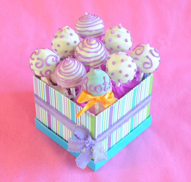 Cake pops for Boots