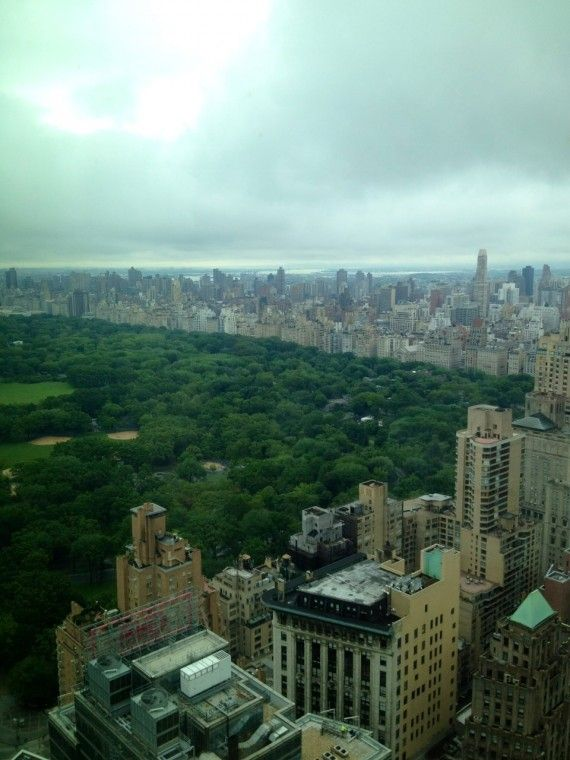 View from the 44th floor of the Hearst Tower