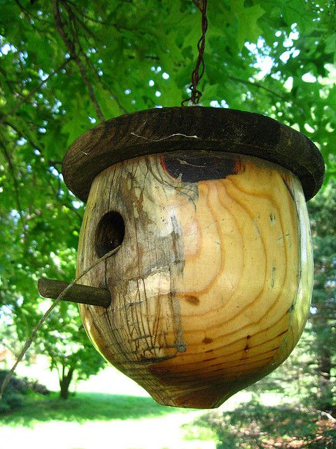 My Next Home Wood Turning Projects Bird House Feeder