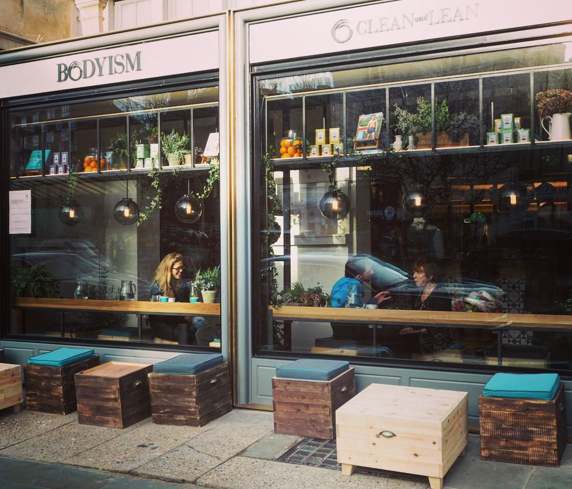 Coolest Places To Eat London: Clean And Lean BODYISM Cafe Notting Hill