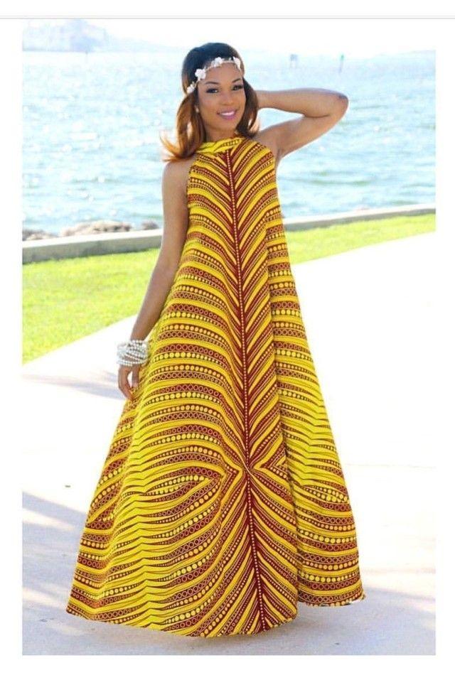 Ankara Maxi Dresses African Fashion