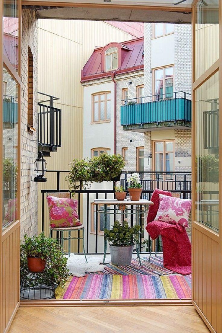 Small Apartment Porch Ideas Tiny Balcony