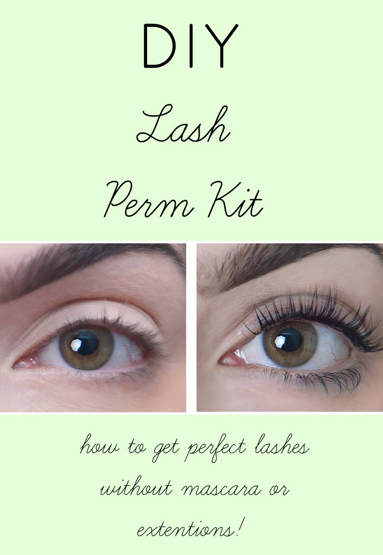 Lash Perms Are An Easy Way To Get Flirty Lashes That Last