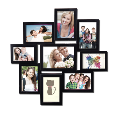 Kollage Picture Frames 4x6 Frame Collage With A Very Neat Arrangement Decorate The Walls Of Your Ro Picture Collage Collage Picture Frames Family Collage Frame