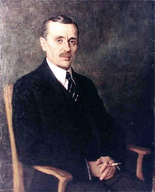 Portrait of Yanka Kupala, 1924 Nikolay Bogdanov-Belsky