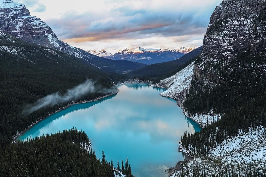 Moraine Lake Banff Canada By Peter Mckinnon