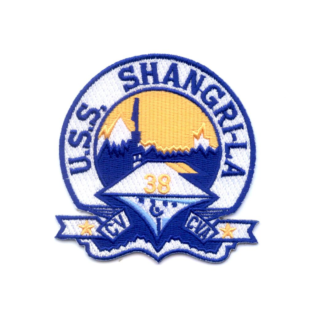 CVA38 USS SHANGRILA Ship Insignia (With images